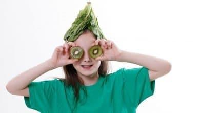تغذية الطفل النباتي