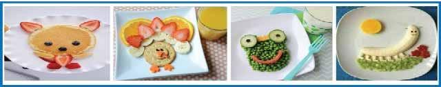طريقة تقديم الطعام تشجع الأطفال لتناول مختلف الأطعمة